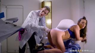 Doctor fucks Amirah Adara in the ass Brazzers
