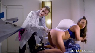 Doctor fucks Amirah Adara in the ass - Brazzers