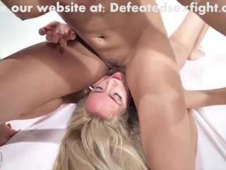 Lesbian Competitive Tribadism Sexfight - Victorya Sweet Vs Victorya Puppy