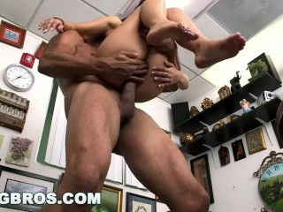 Preview 5 of BANGBROS - Casting with 18 year old Brazilian Gina Valentina (hih14565)