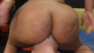 Julie Makes Her Wimp Husband Eat Her Ass - Femdom Ass Worship  ass worship big ass loser humiliation huge ass big tits asslicking cuckold femdom meanbitches chubby curvy kink butt kiss her ass julie cash ass kissing lick her asshole