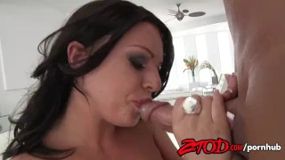 Busty Brunette Kerry Louise Gets Fucked and Takes Cumshot Wives style