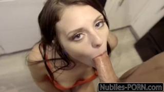 Nubiles-Porn Step Siblings Make Each Other Cum  step sis step bro riding creampie blowjob cumshot small tits big dick young cock sucking shaved facial step brother nubiles porn step sister megan sage