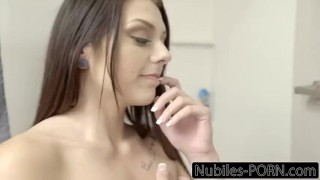 Nubiles-Porn Step Siblings Make Each Other Cum  step sis megan sage step bro riding creampie blowjob cumshot small tits big dick young cock sucking shaved facial step brother nubiles porn step sister