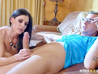 School Girls Tied Up And Gagged Fucking, The Cougar and The Virgin- Brazzers Big Dick Brunette MILF