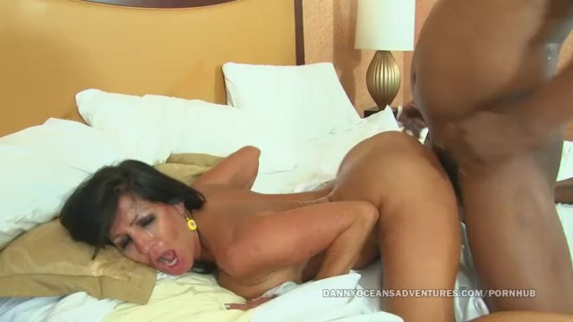 Doggystyle cock fertile womb Docean latina milf bred by black cum in her womb
