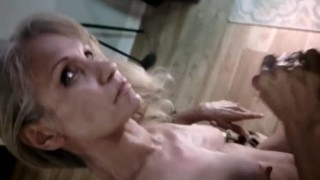 Cum on mother50s tits. (alot)
