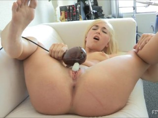 Terrific Female Orgasm With Contractions At