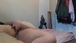 Playing with my big hairy pussy