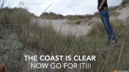 Go for it when the coast is clear