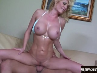 Seth Phone Sex Fucking, Sexy MILF Holly Sampson gets fucked on a sofA Hardcore MILF Pornstar