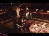 Banging 2B in Skyrim (Nier Automata x Skyrim)