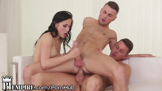 2 girls fucking a guy Biempire 2 guys and a girl play together
