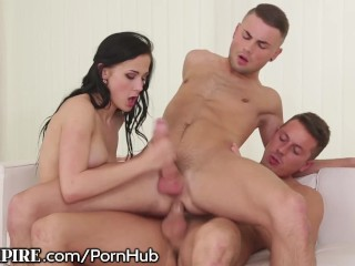 Ambulance Porn Fucking, BiEmpire 2 Guys and a Girl Play Together Hardcore anal Threesome Bisexual Ma