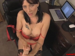 Sex Hub Videos Cumshot On My Teacher Her Black Stockings, Cumshot Fetish Milf Pornstar Role