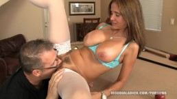 800DAD Big Tit Milf railed on Pool Table
