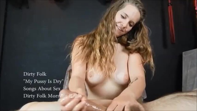 Glow in the dark blowjob and sockjob with hands and feet tied up