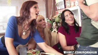 WANKZ Three Stacked Milfs Desperate For Meat