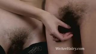 Lavatta W and Lillian Vi have hot lesbian sex