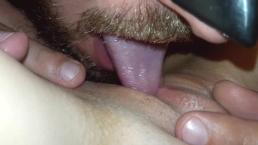 Amateur pussy licking orgasm
