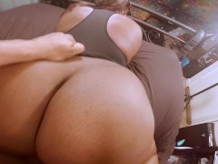 Ass so juicy had to skeet all over it! (sperm dripping between ass cheeks)