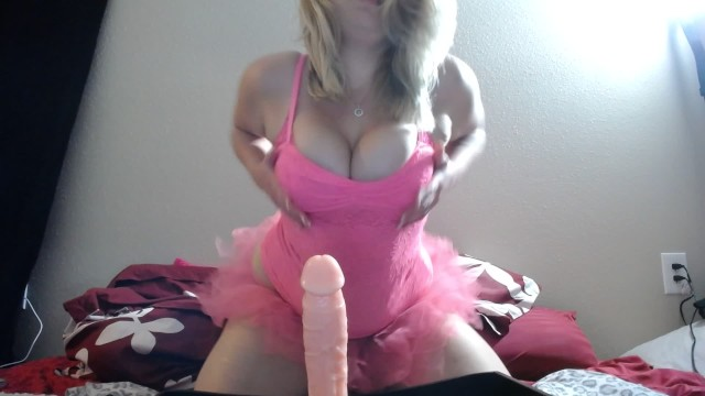 Red adult tutu Young blonde in pink tutu does footjob/joi and masturbates in panties