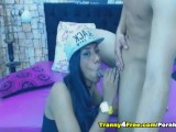 Horny Tranny Gets Fucked by her Boyfriend