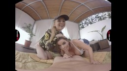 VirtualRealPorn.com - Army girls