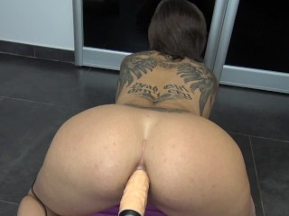 Fuck Machine Destroy Tiny Teen Ass And French Brunette Squirt -Vic Alouqua