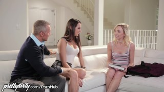Pervy Dad Feels up Daughters Teen Friend Contact homemade