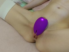 clit tortured by intense vibrator