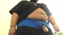 horny ebony man