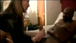 Slut wife fucked by several blacks in front of her husband's cuckold Small brunette