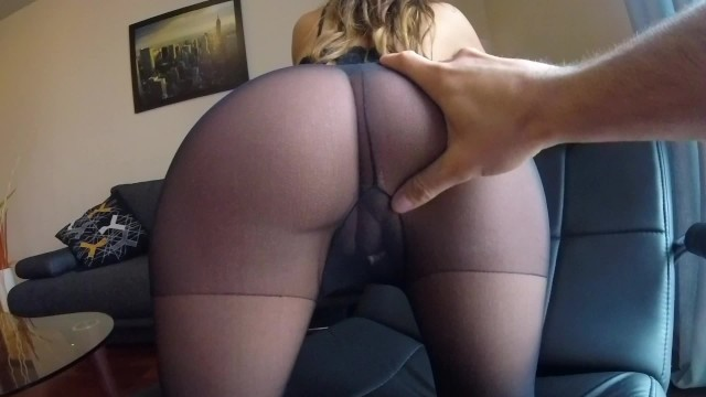 Mom in sexy pantyhose - Sexy milf claudia fucked in pantyhose