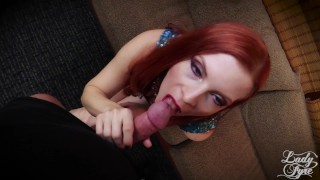 Creampied My Mom while Dad was out. Lady Fyre Fauxcest  olivia fyre point of view cum in pussy lady fyre bush hairy pussy creampie redhead mom pov mommy milf taboo fauxcest mother laz fyre