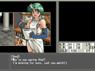 Toushin Toshi 2 Part 5 : The Berieved Wife ; Hentai RPG Game Playthrough