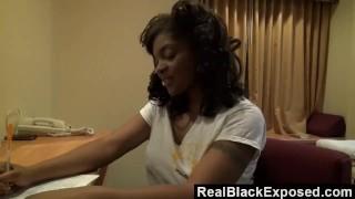 Rida realblackexposed keep away hands dee her can't ebony ebony black
