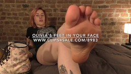 Olivia's Feet in Your Face - www.c4s.com/8983/17478662