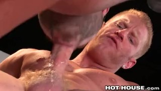 Slams brandt redhead big black micah with cock kissing jock