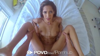 Her juices amour latin chloe slides on cock pussy povd chloe of