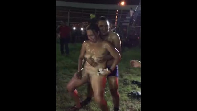 Hot nude blonds - Outdoor sloppy public nude dance ever hot dance