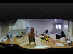 Hot Erotic babe Kitchen Play HD 4K 360 VR