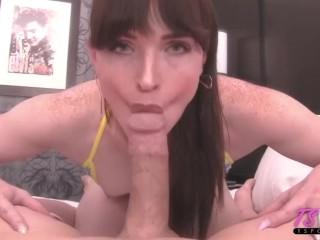 bikini babe Natalie gets fucked bareback