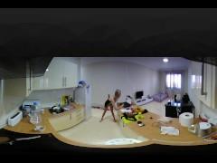 Hot EroticKitchen Noughty Fantasy HD 4K 360 VR