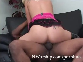 Giant fetish gallery hot blonde slut get fucked by big black cock anal sex interracial nwors