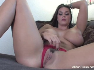 Amy Lindsay Movies Fucking, Big boobed Alison Tyler plays with her hot wet pussy