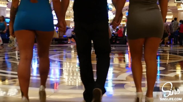 Panoramic las vegas strip - Sinslife - ultimate vegas threesome