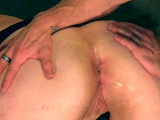 Birthday party blowjob pussy and ass upclose and personal for daddy butt big cock cum sexy gir