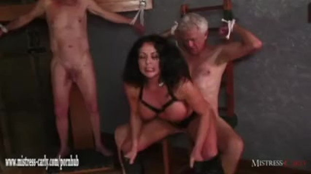 Carly moore amateur - Hot mistress feeds cuckold slave her hot spunky pussy after big cock fuck