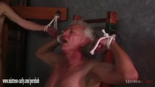 Hot Mistress feeds cuckold slave her hot spunky pussy after big cock fuck  mistress carly big cock bdsm cuckold femdom amateur cumshot hardcore fingering latex mistress bondage big boobs eating pussy